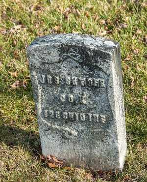 SNYDER, JOSEPH - Richland County, Ohio   JOSEPH SNYDER - Ohio Gravestone Photos