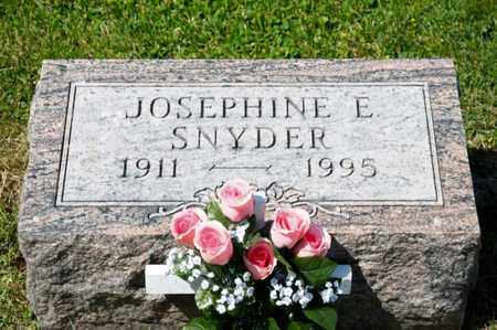 SNYDER, JOSEPHINE E - Richland County, Ohio | JOSEPHINE E SNYDER - Ohio Gravestone Photos
