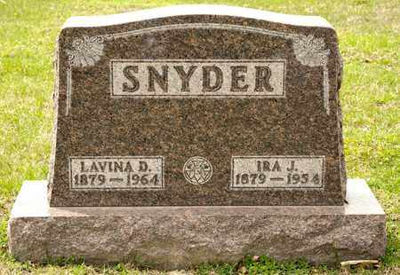SNYDER, IRA J - Richland County, Ohio | IRA J SNYDER - Ohio Gravestone Photos