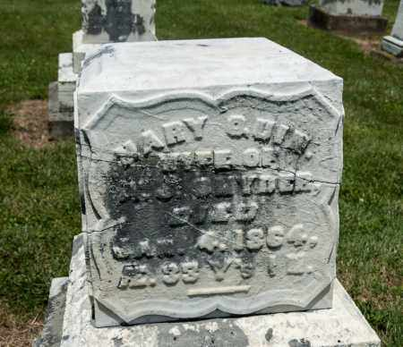 QUIN SNYDER, MARY - Richland County, Ohio | MARY QUIN SNYDER - Ohio Gravestone Photos