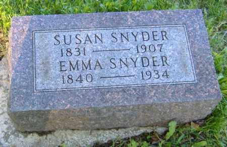 SNYDER, EMMA - Richland County, Ohio | EMMA SNYDER - Ohio Gravestone Photos