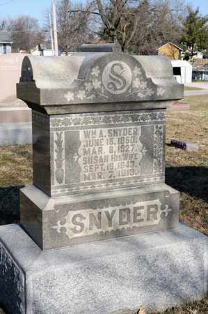 SNYDER, SUSAN - Richland County, Ohio | SUSAN SNYDER - Ohio Gravestone Photos