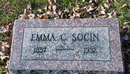 SOCIN, EMMA C - Richland County, Ohio | EMMA C SOCIN - Ohio Gravestone Photos