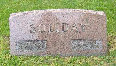 SOLIDAY, MARY ODESSA - Richland County, Ohio | MARY ODESSA SOLIDAY - Ohio Gravestone Photos