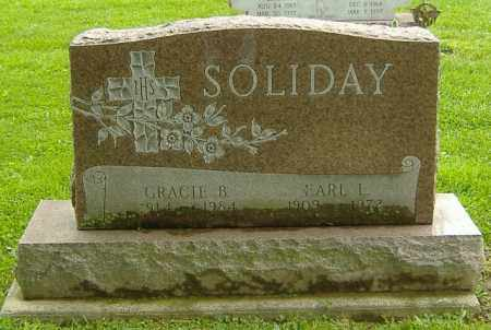 SOLDIAY, GRACIE B. - Richland County, Ohio | GRACIE B. SOLDIAY - Ohio Gravestone Photos