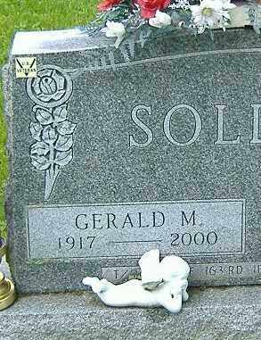 SOLIDAY, GERALD M. - Richland County, Ohio | GERALD M. SOLIDAY - Ohio Gravestone Photos