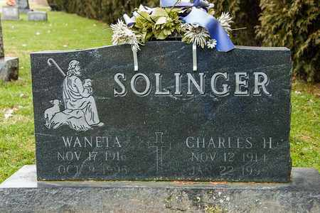 SOLINGER, WANETA - Richland County, Ohio | WANETA SOLINGER - Ohio Gravestone Photos