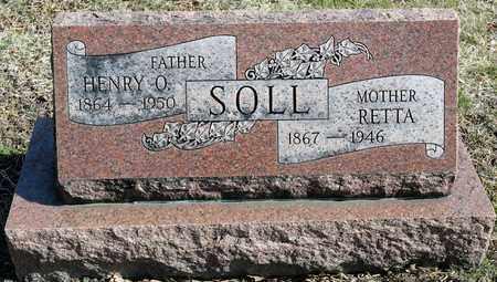 SOLL, RETTA - Richland County, Ohio | RETTA SOLL - Ohio Gravestone Photos