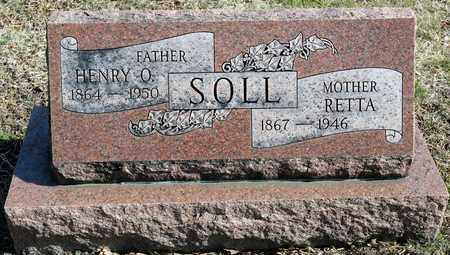 SOLL, HENRY O - Richland County, Ohio | HENRY O SOLL - Ohio Gravestone Photos