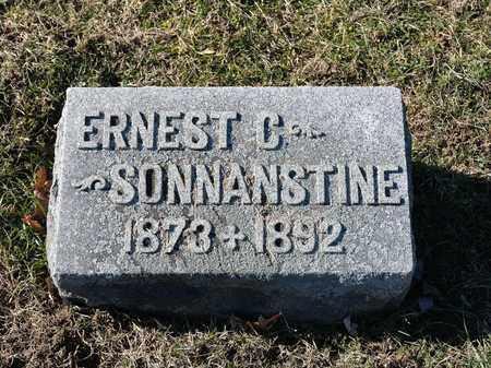SONNANSTINE, ERNEST C - Richland County, Ohio | ERNEST C SONNANSTINE - Ohio Gravestone Photos