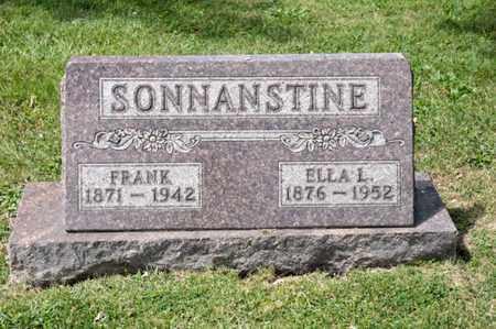 SONNANSTINE, FRANK - Richland County, Ohio | FRANK SONNANSTINE - Ohio Gravestone Photos