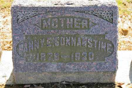 SONNANSTINE, FANNY E - Richland County, Ohio | FANNY E SONNANSTINE - Ohio Gravestone Photos