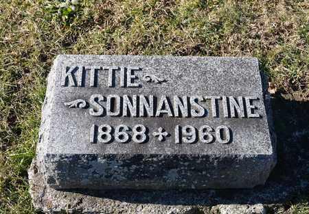 SONNANSTINE, KITTIE - Richland County, Ohio | KITTIE SONNANSTINE - Ohio Gravestone Photos
