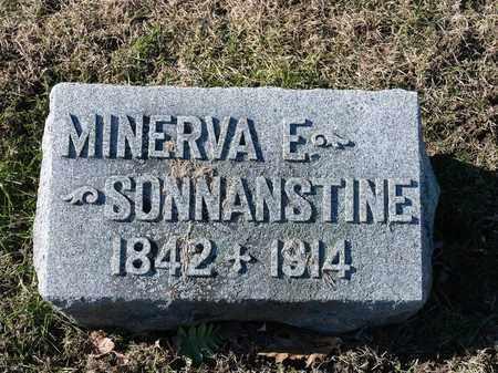 SONNANSTINE, MINERVA E - Richland County, Ohio | MINERVA E SONNANSTINE - Ohio Gravestone Photos
