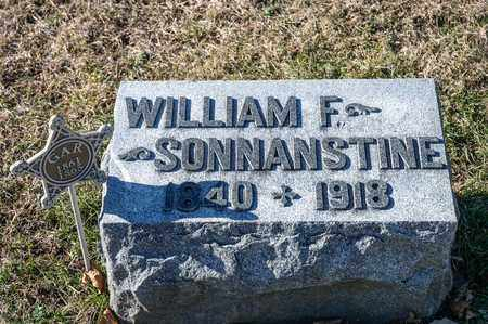 SONNANSTINE, WILLIAM F - Richland County, Ohio | WILLIAM F SONNANSTINE - Ohio Gravestone Photos