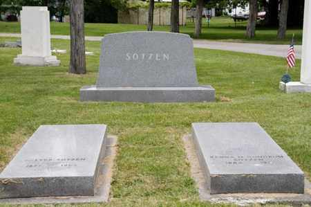 SOTZEN, WALTER - Richland County, Ohio | WALTER SOTZEN - Ohio Gravestone Photos