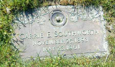 SOUTHWORTH, CARRIE ESTELLA - Richland County, Ohio | CARRIE ESTELLA SOUTHWORTH - Ohio Gravestone Photos