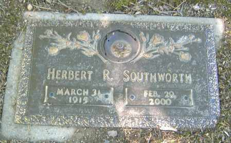 SOUTHWORTH, HERBERT R. - Richland County, Ohio | HERBERT R. SOUTHWORTH - Ohio Gravestone Photos