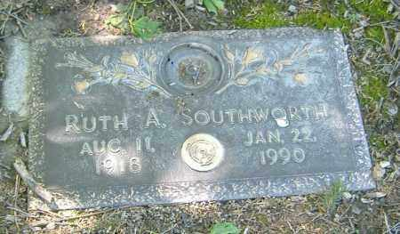 SOUTHWORTH, RUTH A. - Richland County, Ohio | RUTH A. SOUTHWORTH - Ohio Gravestone Photos