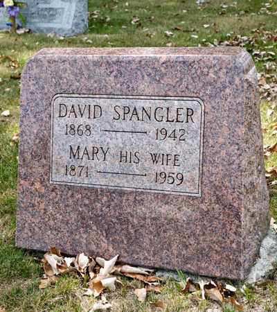 SPANGLER, DAVID - Richland County, Ohio | DAVID SPANGLER - Ohio Gravestone Photos