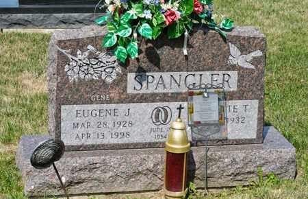 SPANGLER, EUGENE J - Richland County, Ohio | EUGENE J SPANGLER - Ohio Gravestone Photos