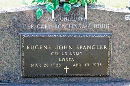 SPANGLER, EUGENE JOHN - Richland County, Ohio | EUGENE JOHN SPANGLER - Ohio Gravestone Photos