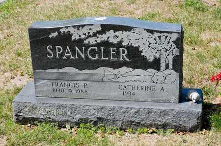 SPANGLER, FRANCIS P - Richland County, Ohio | FRANCIS P SPANGLER - Ohio Gravestone Photos