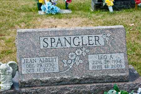 ALBERT SPANGLER, JEAN - Richland County, Ohio | JEAN ALBERT SPANGLER - Ohio Gravestone Photos