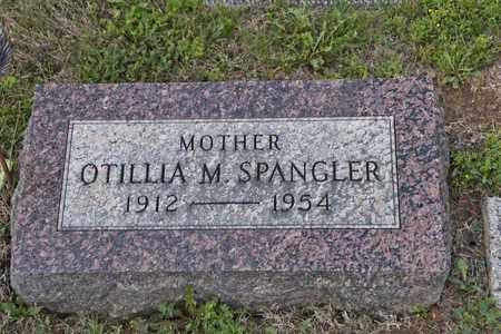 SPANGLER, OTILLIA M - Richland County, Ohio | OTILLIA M SPANGLER - Ohio Gravestone Photos