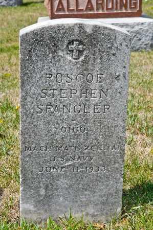 SPANGLER, ROSCOE STEPHEN - Richland County, Ohio | ROSCOE STEPHEN SPANGLER - Ohio Gravestone Photos