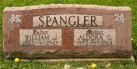 SPANGLER, WILLIAM J - Richland County, Ohio | WILLIAM J SPANGLER - Ohio Gravestone Photos