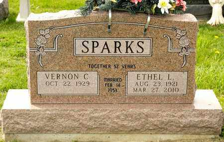 SPARKS, ETHEL L - Richland County, Ohio | ETHEL L SPARKS - Ohio Gravestone Photos