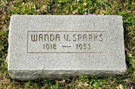 SPARKS, WANDA V - Richland County, Ohio | WANDA V SPARKS - Ohio Gravestone Photos