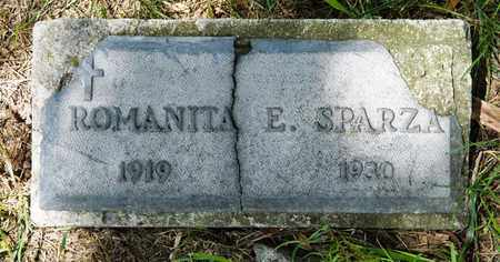 SPARZA, ROMANITA E - Richland County, Ohio | ROMANITA E SPARZA - Ohio Gravestone Photos