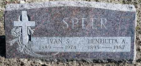 SPEER, IVAN S - Richland County, Ohio | IVAN S SPEER - Ohio Gravestone Photos