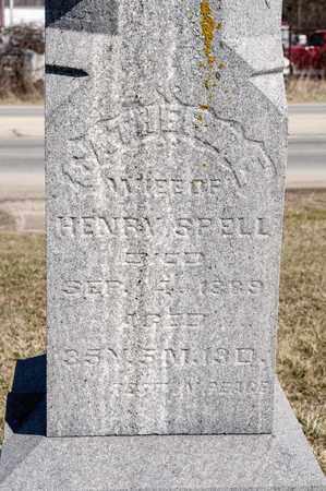 BAUER SPELL, CATHERINE - Richland County, Ohio | CATHERINE BAUER SPELL - Ohio Gravestone Photos