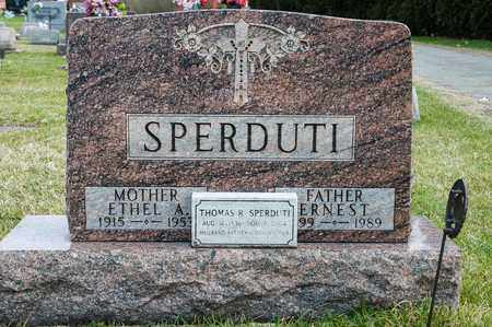 SPERDUTI, ERNEST - Richland County, Ohio | ERNEST SPERDUTI - Ohio Gravestone Photos