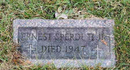 SPERDUTI JR, ERNEST - Richland County, Ohio | ERNEST SPERDUTI JR - Ohio Gravestone Photos