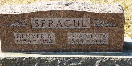 SPRAGUE, OLA VESTA - Richland County, Ohio | OLA VESTA SPRAGUE - Ohio Gravestone Photos