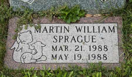 SPRAGUE, MARTIN WILLIAM - Richland County, Ohio | MARTIN WILLIAM SPRAGUE - Ohio Gravestone Photos