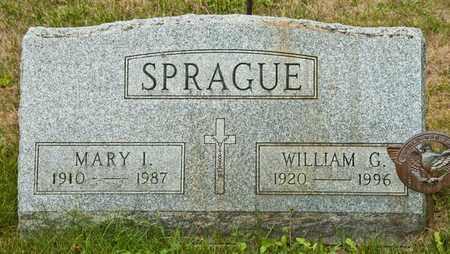 SPRAGUE, MARY I - Richland County, Ohio | MARY I SPRAGUE - Ohio Gravestone Photos