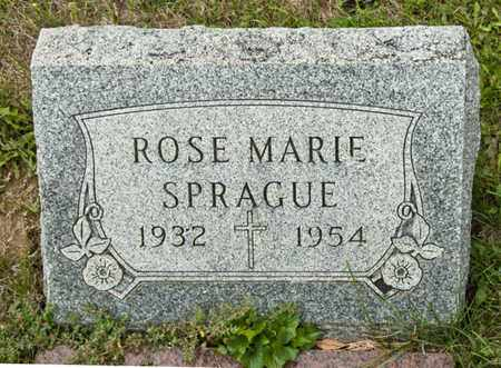 SPRAGUE, ROSE MARIE - Richland County, Ohio | ROSE MARIE SPRAGUE - Ohio Gravestone Photos