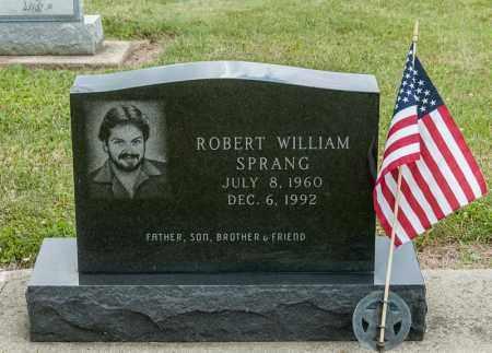 SPRANG, ROBERT WILLIAM - Richland County, Ohio | ROBERT WILLIAM SPRANG - Ohio Gravestone Photos