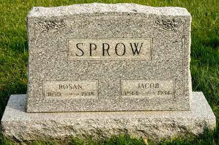 SPROW, JACOB - Richland County, Ohio | JACOB SPROW - Ohio Gravestone Photos