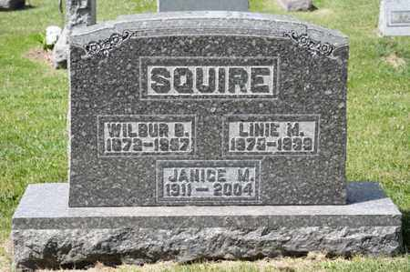 SQUIRE, LINIE M - Richland County, Ohio | LINIE M SQUIRE - Ohio Gravestone Photos