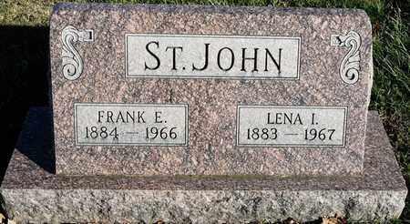 ST. JOHN, LENA I - Richland County, Ohio | LENA I ST. JOHN - Ohio Gravestone Photos