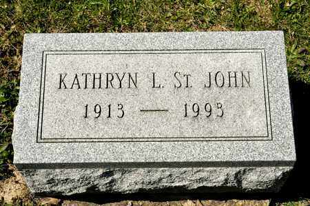 ST. JOHN, KATHRYN L - Richland County, Ohio | KATHRYN L ST. JOHN - Ohio Gravestone Photos