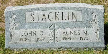 STACKLIN, AGNES M - Richland County, Ohio | AGNES M STACKLIN - Ohio Gravestone Photos