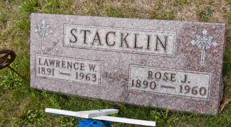 STACKLIN, LAWRENCE W - Richland County, Ohio | LAWRENCE W STACKLIN - Ohio Gravestone Photos