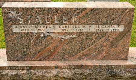 STADLER, BERNICE - Richland County, Ohio | BERNICE STADLER - Ohio Gravestone Photos